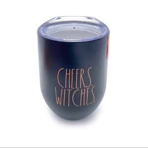 RAE DUNN 'CHEERS, WITCHES.' Insulated Wine Glass